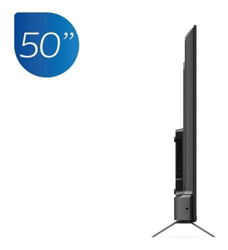 televisor philips smart 4k uhd borderless 50 pulgadas