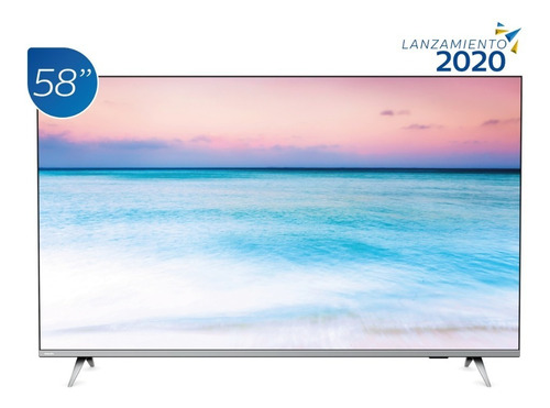 televisor philips smart 4k uhd borderless 58 pulgadas