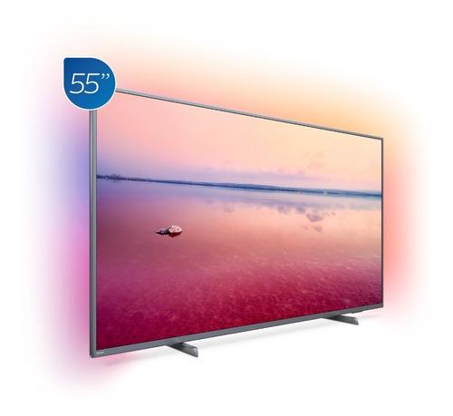 televisor philips smart 4k uhd con ambilight 55 pulgadas