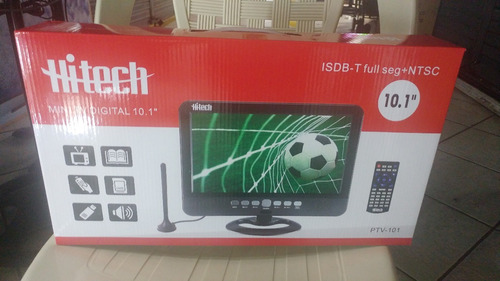 televisor portátil 10.1 marca hitech señal digital p/oferta