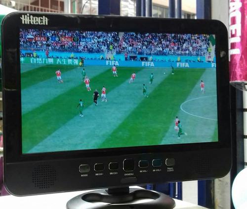 televisor portatil hitech 10.1 señal digital hd/ para autos