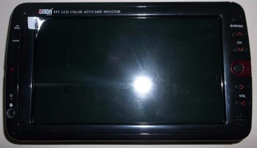 televisor portatil lcd pantalla de 7 pulgadas onida original