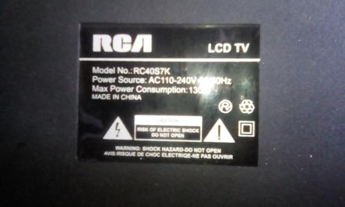 televisor rca 42  pantalla partida,solo 1 mes de uso.