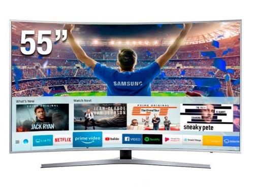 televisor samsung led 55  uhd curvo smart tv 55mu6500