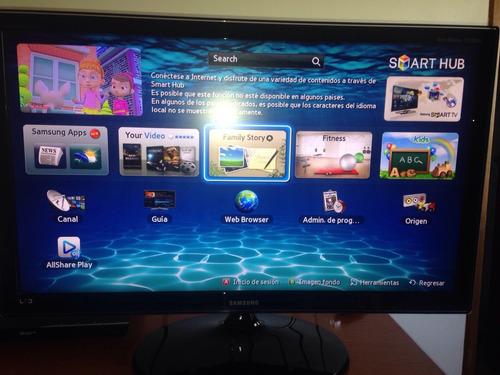 televisor samsung monitor 27´´ full hd entrada digital