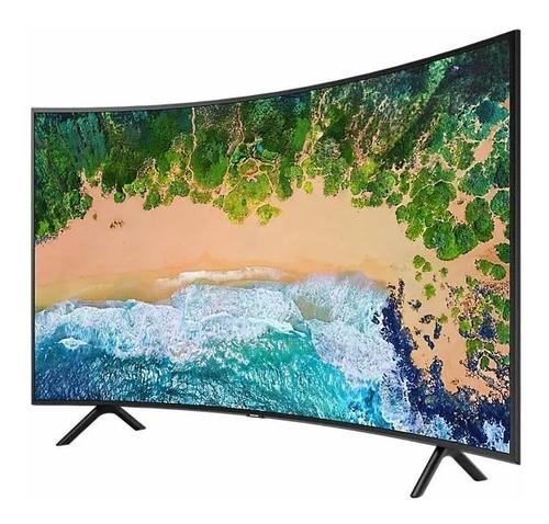 televisor samsung nu7300 serie 7 4k smart tv 49 curvo + gaf