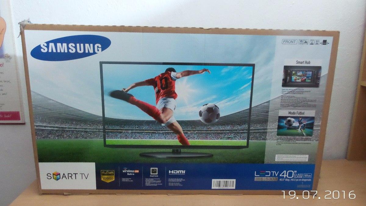 Samsung 40 Inch Led Smart Tv Series 5 5303 The Emoji Ua40j5000 Televisor Bs 4 50 En