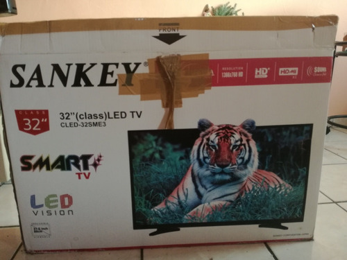 televisor sankey de 32'' smart, para repacion o piezas.
