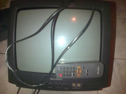 televisor sharp 14  excelentes condiciones