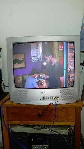 televisor sharp 20 pulgadas entrada sonido vídeo perfecto