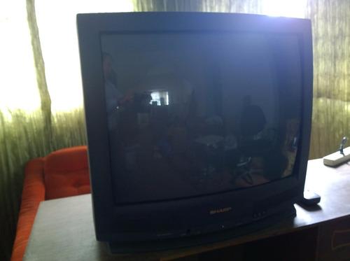 televisor sharp 27 pulgadas estereo entrada audio / video
