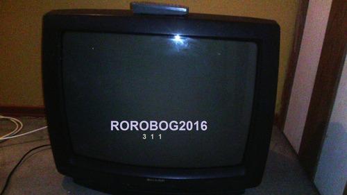 televisor sharp de 26 pulgadas c/control con imágen nítida