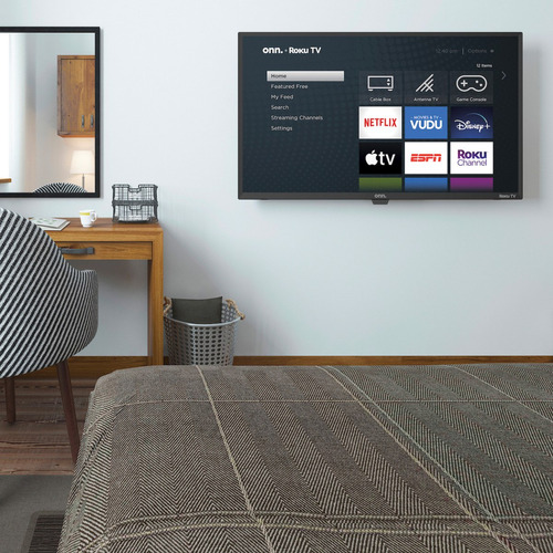 televisor smart tv 32 hd roku netflix youtube wifi onn