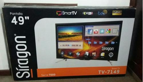 televisor smart tv síragon 49¨full hd modelo: 7149 (450v)