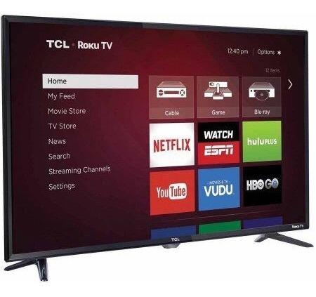 televisor smart tv tcl 32 netflix y youtube 2020 con garanti