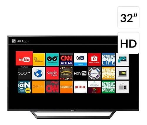 televisor sony 32  hd smart tv,wifi kdl-32w605d negro