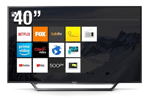 televisor sony 40 full hd led smart tv - wifi - kdl-40w655d