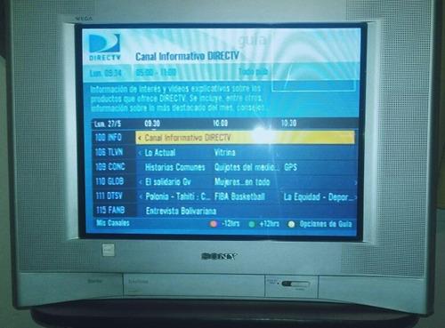 televisor sony trinitron 21 convencional kv21fs120