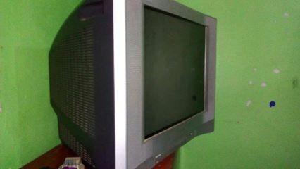 televisor sony trinitron de 21 pulgada