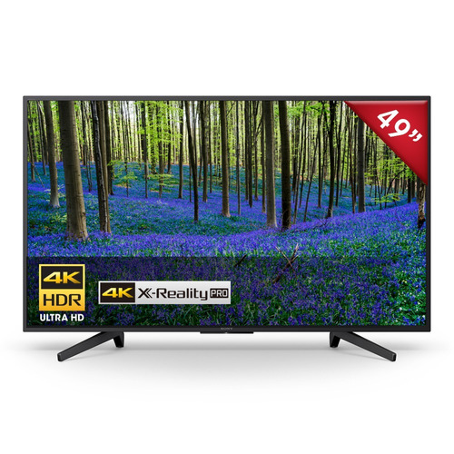 televisor sony ultra hd 4k hdr smart tv de 49'- kd-49x727f