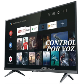 Televisor Tcl 32 Smart Android Control X Voz, Marvintv