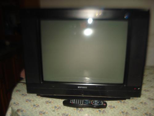 televisor tv color 21 top house c/ctrl rem  ultra slim!!