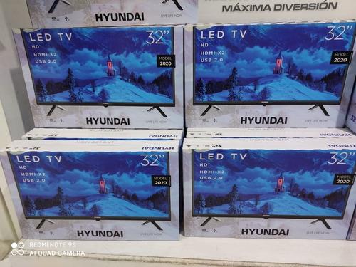 televisor tv de 32'' hyundai, samsung año 2020 nuevos