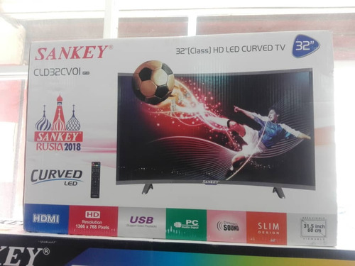 televisor tv de 32  sankey curve totalmente nuevo
