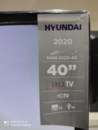 televisor tv led de 40 pulgadas hyundai, samsung, lg