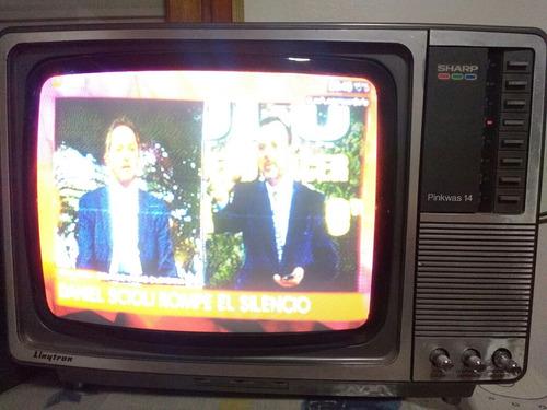 televisor tv sharp 14' color