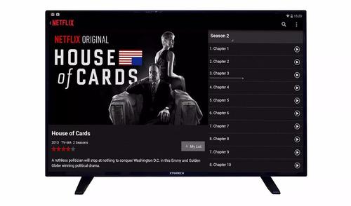 televisor xtratech 49  full hd smart tv + soporte de pared