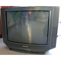 Tv Sony Trinitron 24 Pantalla Plana En Impecable Estado