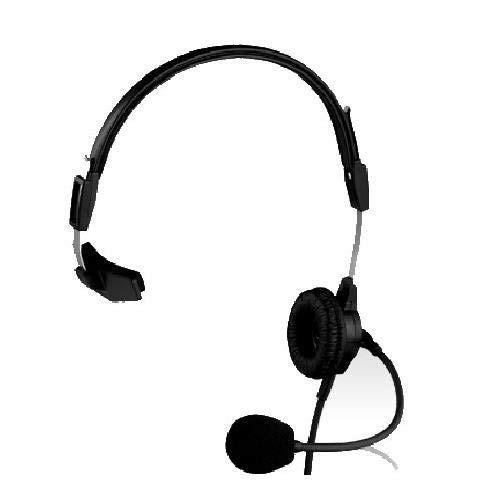 telex ph-88r auriculares ligeras de una cara para rts, rango