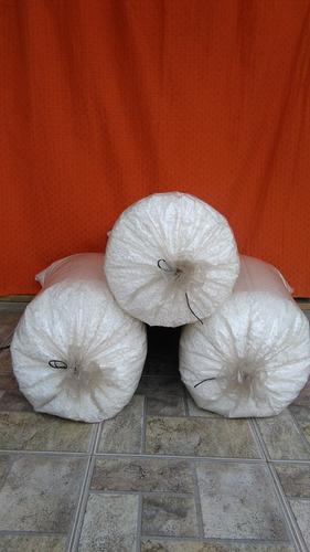telgopor de alta densidad molido, picado y en perlas.