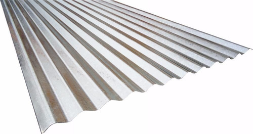 telha de zinco onduladas chapa  0,43 mm  r$ 19,70 mtl