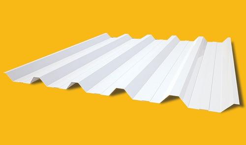 telha de zinco pintura branca uma face tp/40/980