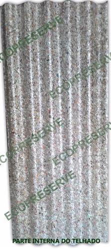 telha ecológica com manta, telha térmica ecopreserve