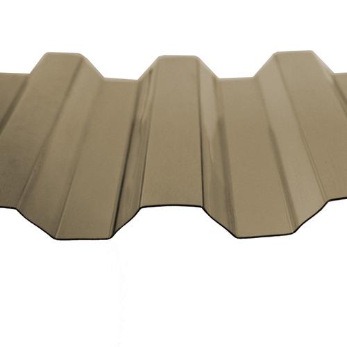 telha greca trapezoidal bronze 0,8mmx1260mmx6000mm