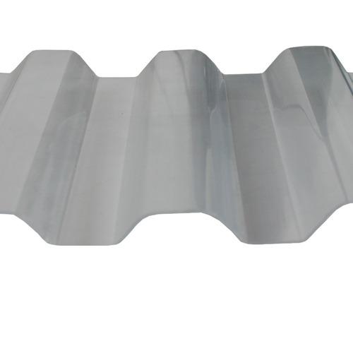 telha greca trapezoidal cristal 0,8mmx1260mmx6000mm