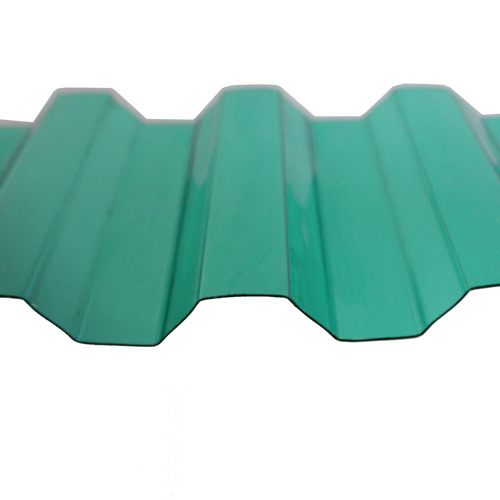telha greca trapezoidal verde 0,8mmx1260mmx6000mm