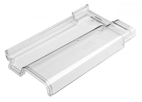 telha romana policarbonato transparente - atco