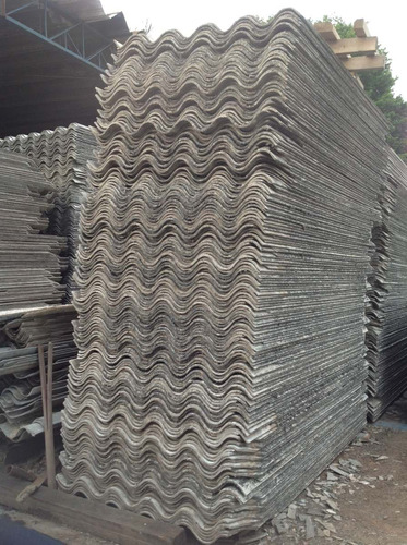 telha usada 1,83 x1,10- fibrocimento-6mm - rama costa )