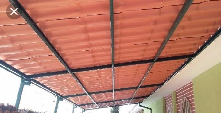 Placa Solar Suporte Telhado E Trilho - Energia Solar - R