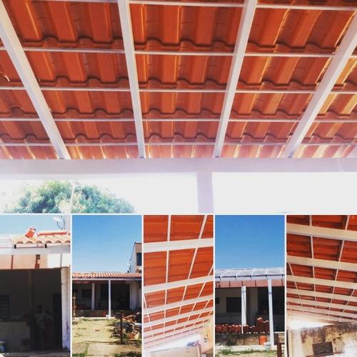 telhados e serralheria