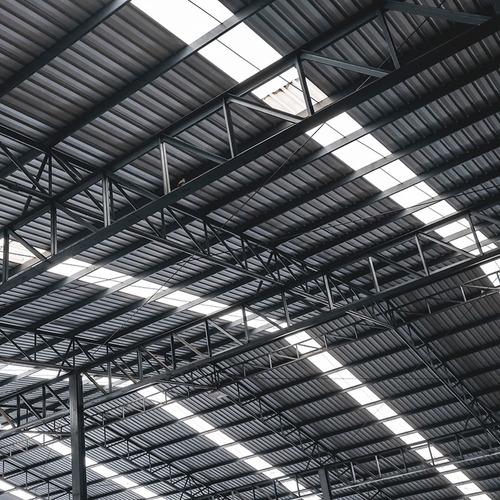 telhas de aço frete  pç 5 mts