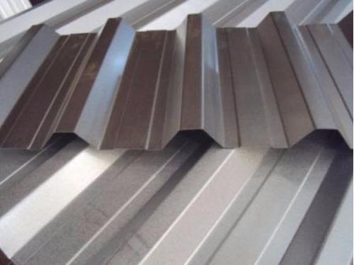 telhas de aço galvalume trapezoidal natural r$ 19,70 mtl