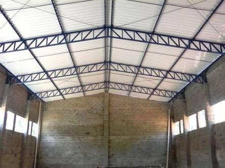 telhas de aço galvalume trapezoidal natural r$ 22,47 mtl