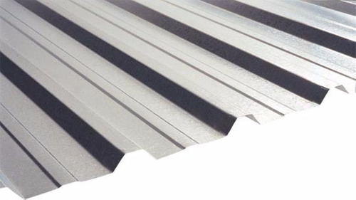 telhas de aço galvanizadas natural 0,43 mm  r$ 19,70 mtl