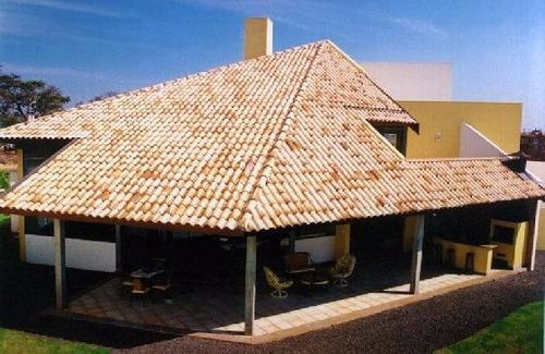 telhas portuguesas mescladas naturais ótimo preço kit 7 pçs