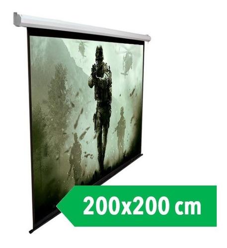 telon mural dinon 2 x 2 metros 110 pulg diagonal ev9112